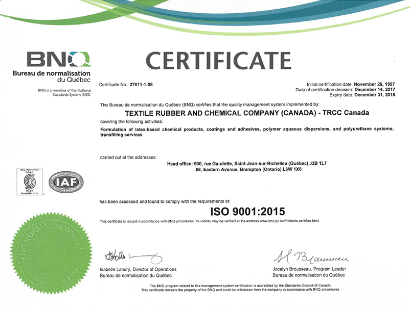 utility of iso 9000 certification